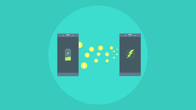 dobíjení baterie